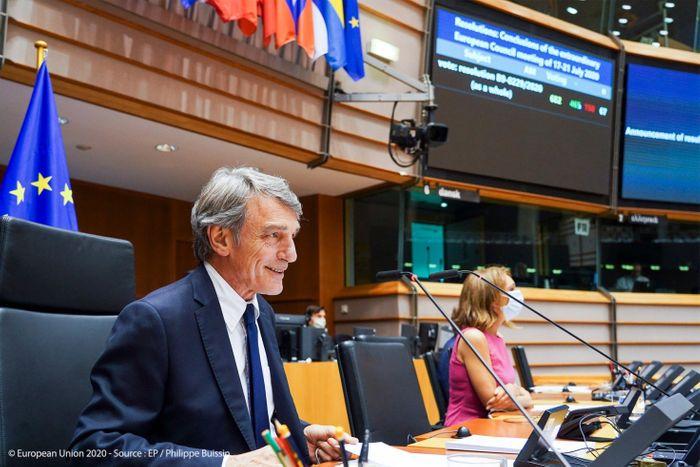 Європейський парламент голосує за бюджет, узгоджений на саміті Європейської ради.