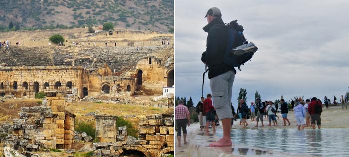 Pamukkale y el Teatro de Hierapolis - Paciencia Mel que ya vamos a los Baños de Cleopatra