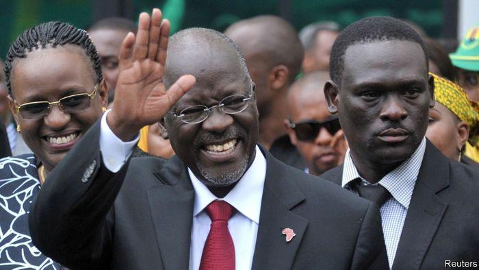Чинний президент Танзанії Джон Маґуфулі активно просуває ідею «суахілійської цивілізації»