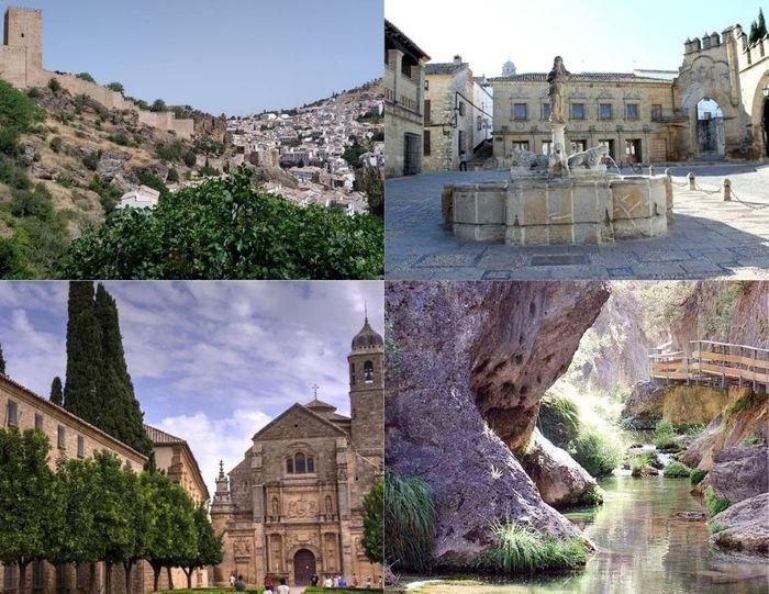 CAZORLA, ÚBEDA Y BAEZA: Rutas entre olivos