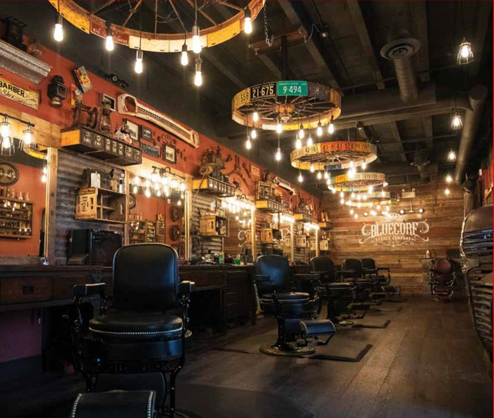 Talent & Tradition Rule at Bluecore Barber Company