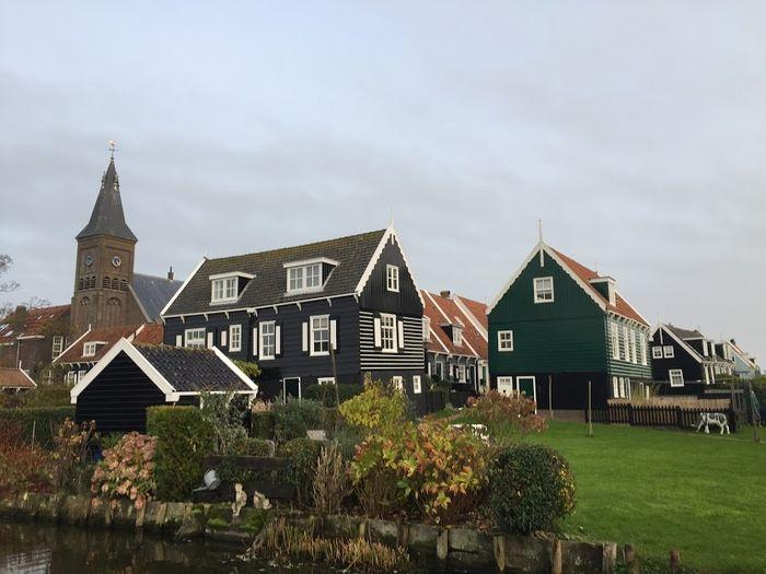 Casas típicas de Holanda.