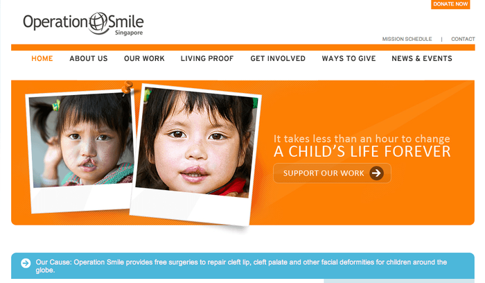 Operation Smile's Website :)))