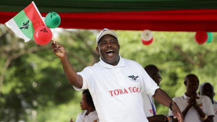 Еварист Ндайшемійє – наступник чинного президента П'єра Нкурунзізи.