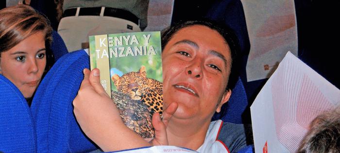 Volando a Nairobi con mi amiga Mamen R.