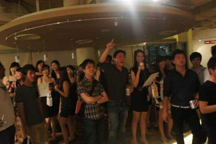 Singapore Management University SMU Alumni Party in My Crib with Emcee Singapore Melvin Ho
