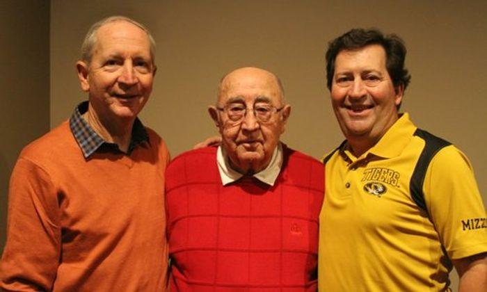 Dr. Scott McKnight's brother Tom McKnight, his father Cecil McKnight and Dr. Scott McKnight