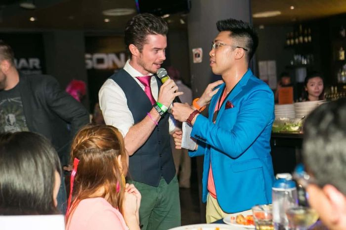 With Oli | HBO Asia Dinner and Dance, DND, Annual Dinner Emcee MC Host Singapore