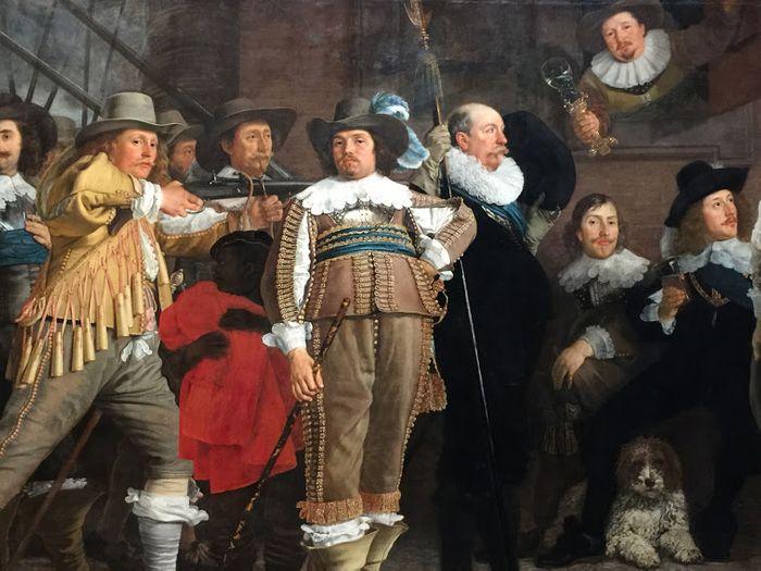 Galeria de la Edad de Oro, Rembrandt. Rijksmuseum de Ámsterdam.