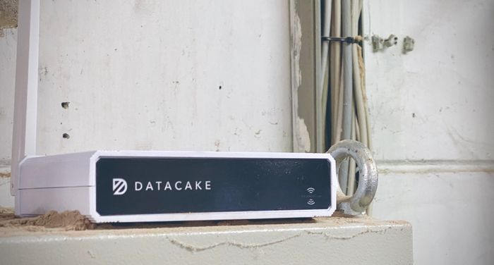 The Datacake LoRaWAN Gateway - can be put anywhere indoors.