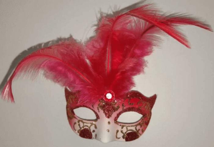 De los más bonitos, máscara de carnaval veneciano