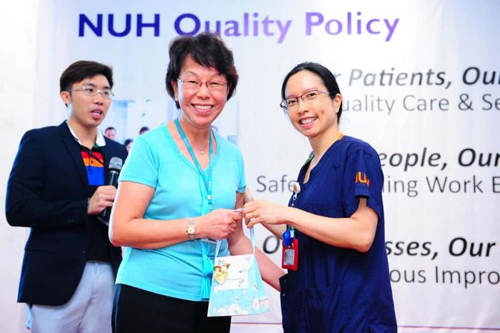 NUH Quality Policy Roadshow | Emcee in Singapore Melvin Ho | EmceeMelvin.com | Lucky Draw 2