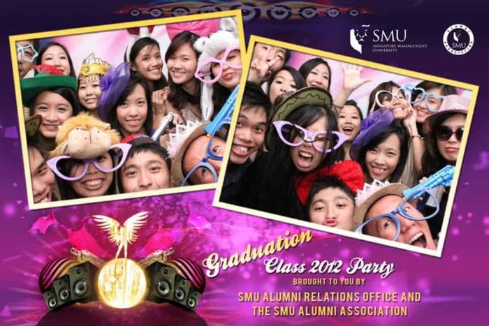 Singapore Management University SMU Alumni Party in My Crib with Emcee Singapore Melvin Ho