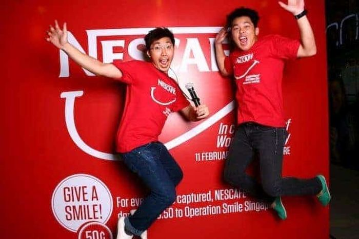 YAYYYYY! Nescafe Roadshow Road show Emcee Singapore