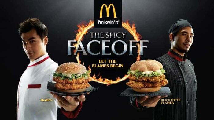 McDonald's Spicy FaceOff