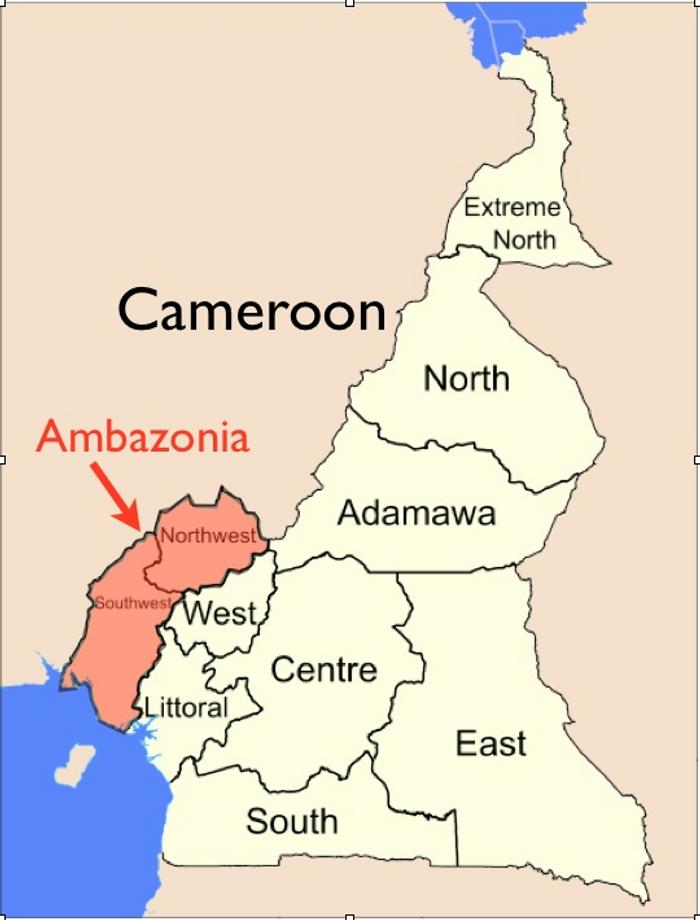 Бунтівні провінції виділені червоним