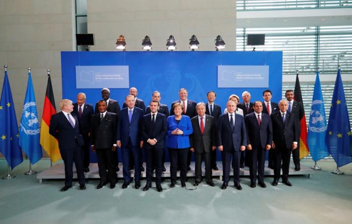 На фото учасники Берлінської конференції