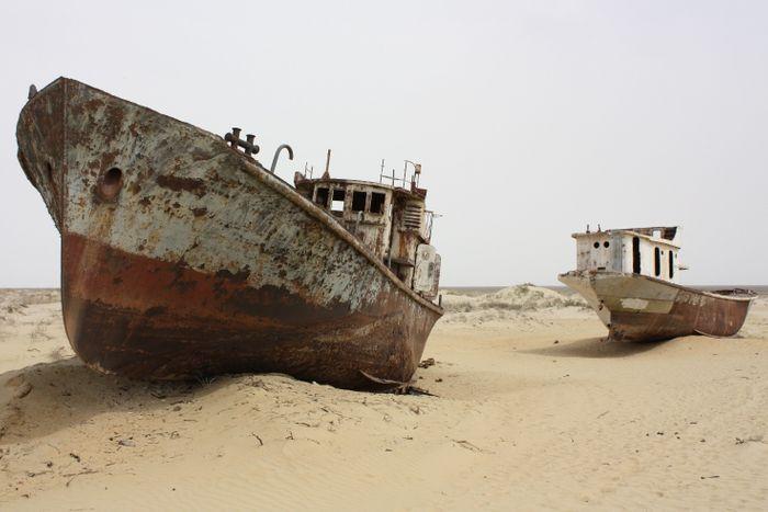 Наслідки осушення Аральського моря