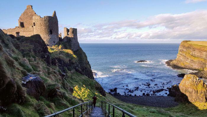 Irlanda del Norte - Castillo de Dunluce